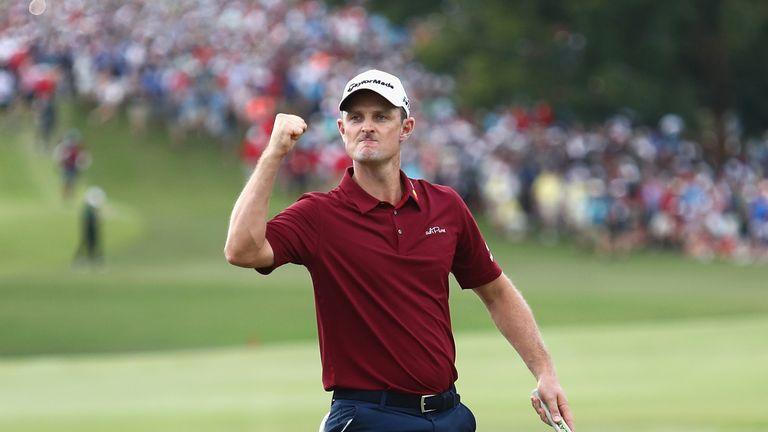 Justin Rose won the PGA Tour's season-long FedExCup in September