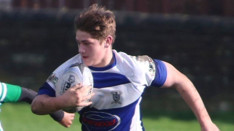 Harry Sykes died in France while on a rugby trip