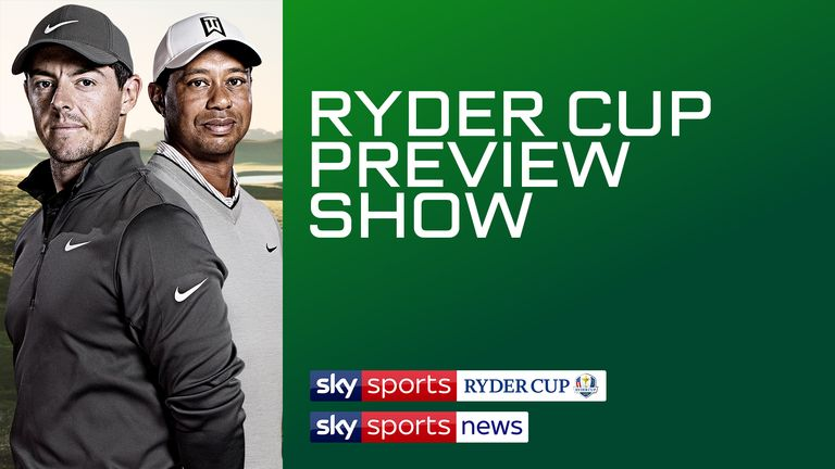 Watch Ryder Cup Preview Show Live Golf News Sky Sports