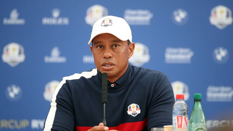 Woods vowed to help Team USA win in Europe for the first time since 1993