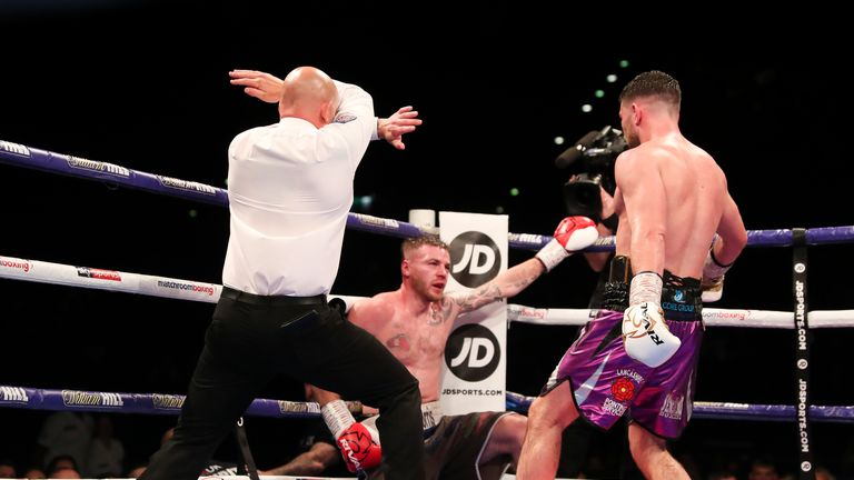 Fitzgerald finds a late stoppage to keep his unbeaten record intact