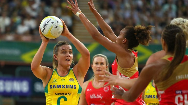 Liz Watson and Australia gained revenge for their Commonwealth Games defeat