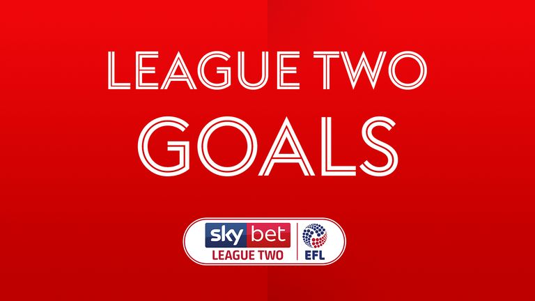 Sky Bet League Two Goals