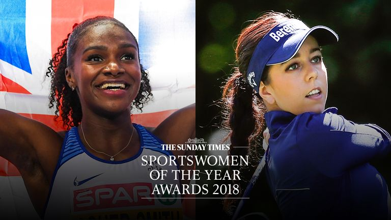 The shortlist is out for the Sunday Times Sportswomen of the Year 2018