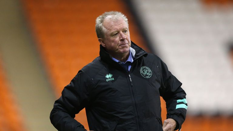 Steve McClaren watched his QPR side knocked out of the Carabao Cup
