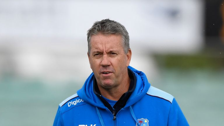 Stuart Law will leave his role as West Indies head coach in December