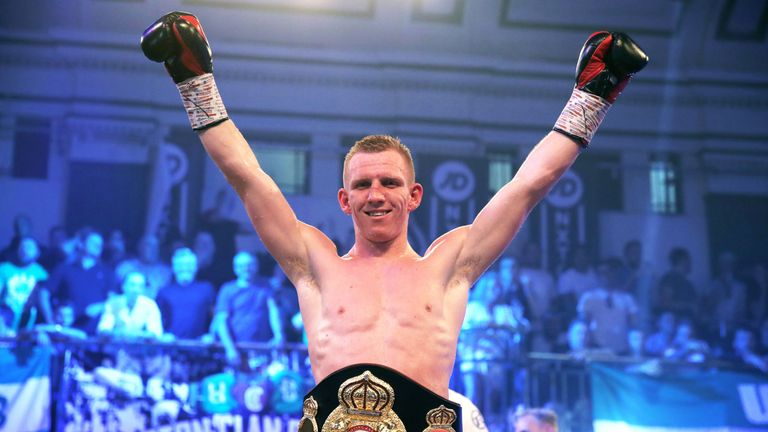 Ted Cheeseman battles Asinia Byfield for British belt on October 27