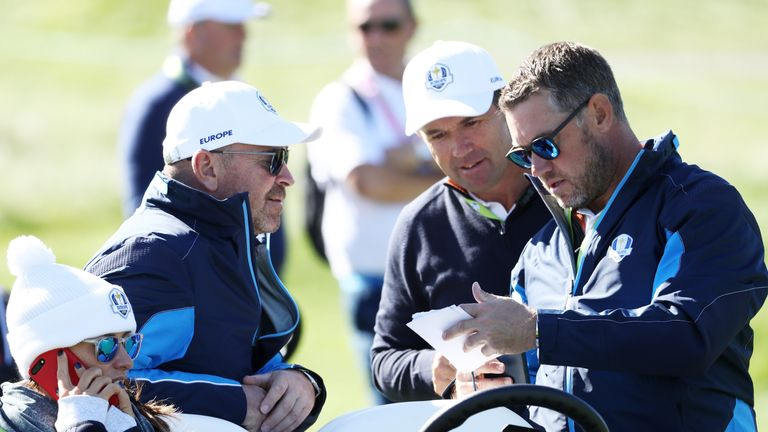 Harrington was part of Thomas Bjorn's backroom team in Paris last year