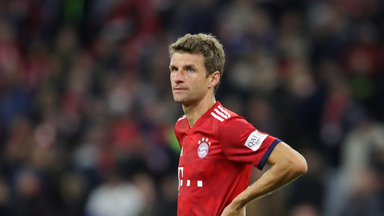 Thomas Muller will not feature against Liverpool