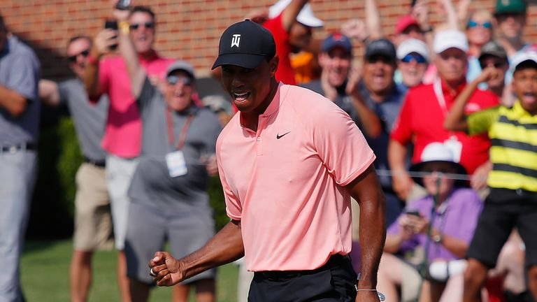 Woods is the only player to win The Players in both March and May