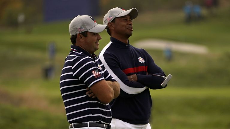 Patrick Reed and Tiger Woods played together at Le Golf National