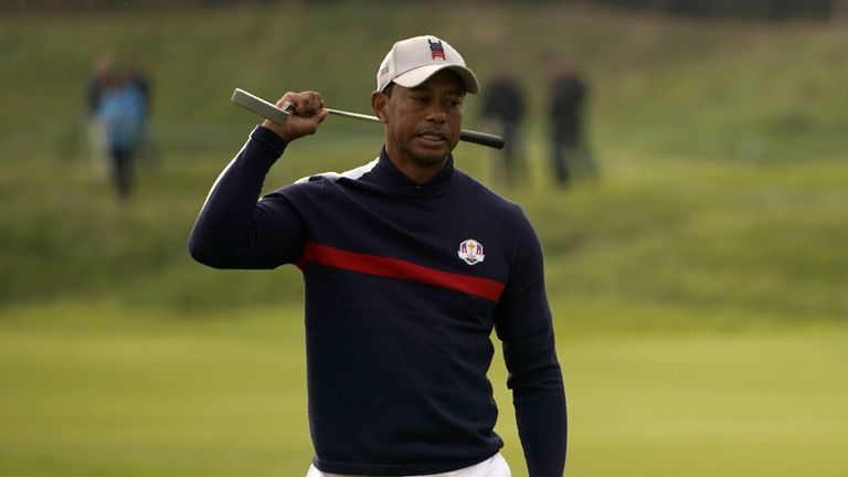 Ryder Cup 2018: Jim Furyk leaves Tiger Woods out of Friday foursomes