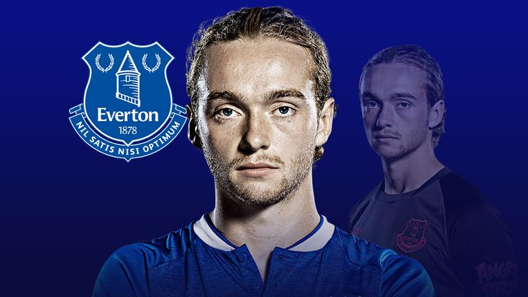 Young Everton midfielder Tom Davies has a big season ahead of him