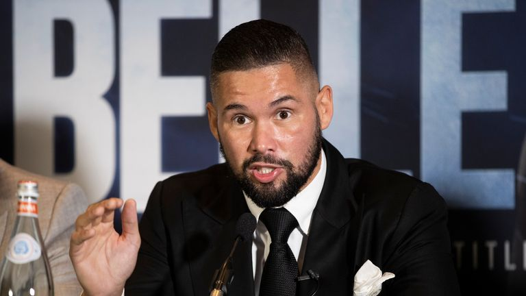Usky vs Bellew, November 10, Sky Sports Box Office