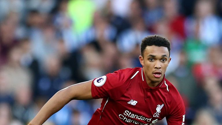 Could Trent Alexander-Arnold play against Leicester on Wednesday?
