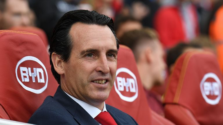Pires has backed Unai Emery for success at Arsenal