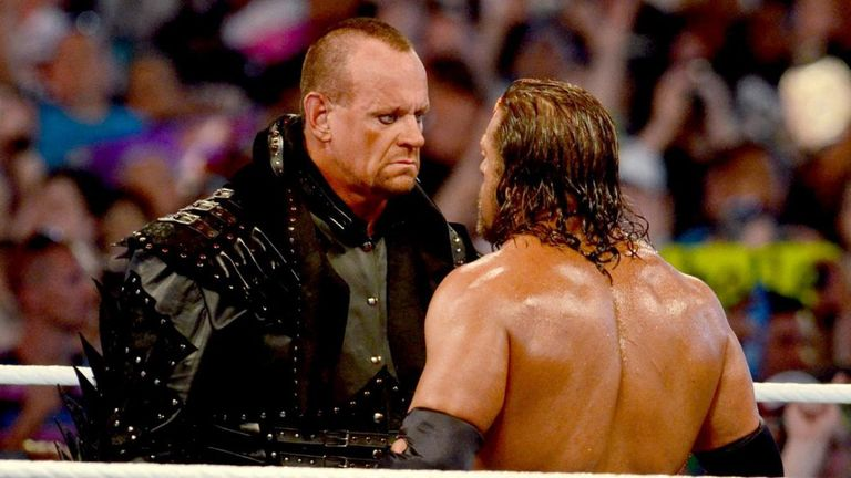 Undertaker and Triple H have clashed many times in their 21-year rivalry - often with brutal consequences