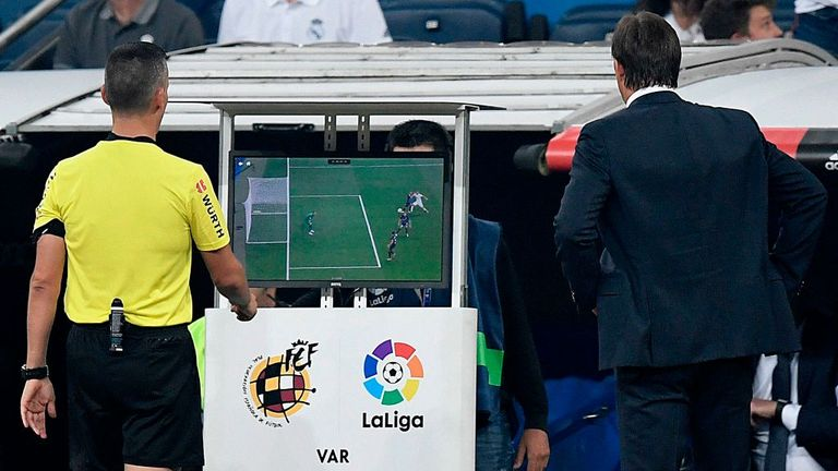 VAR is already in use in La Liga and other leagues around Europe