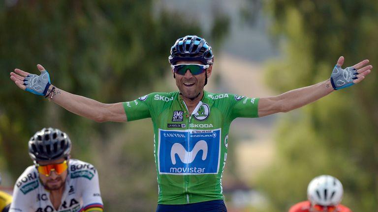 ab388bd43 Veteran rider Alejandro Valverde wins men s World Championship ...