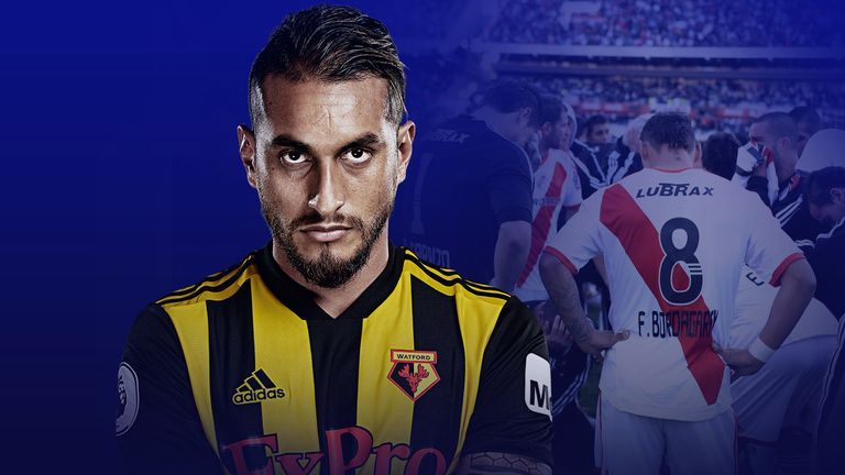 Roberto Pereyra is shining for Watford in the Premier League