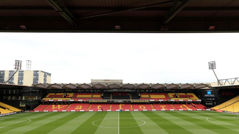 Watford wanted the EFL to reverse the fixture and allow them to host the match at Vicarage Road