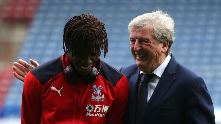 Hodgson admits Palace are a weaker team without Zaha