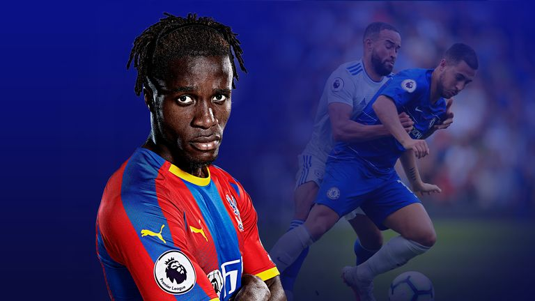 Wilfried Zaha and Eden Hazard are two of the best dribblers in the Premier League