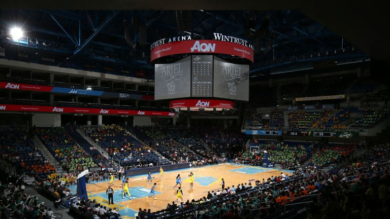 The Wintrust Arena in Chicago has a capacity of around 10,000