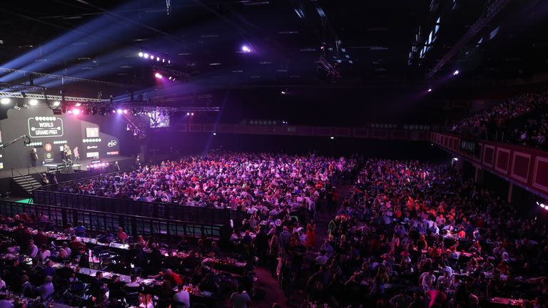 The Citywest Hotel plays host to the Unibet World Grand Prix