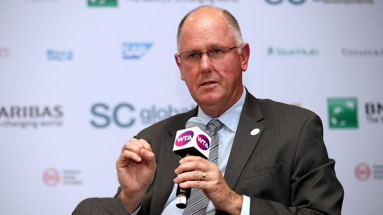 WTA chief executive Steve Simon backed Serena Williams' claim that sexism played a role in the code violations