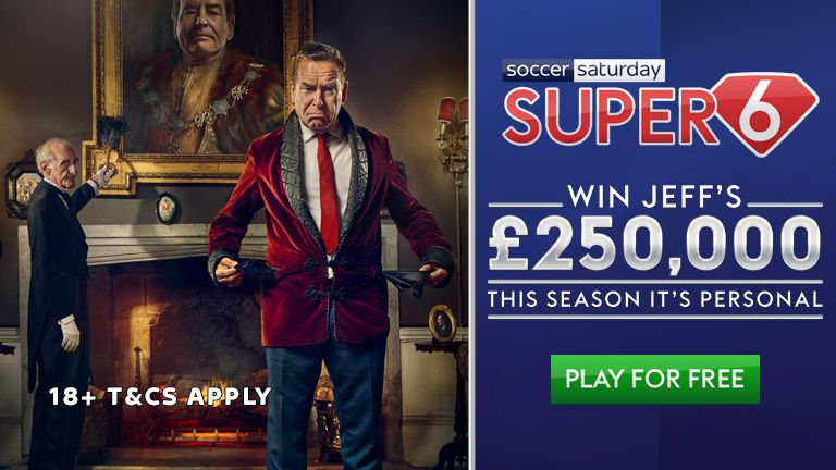 Play Super 6 to win the £250k jackpot