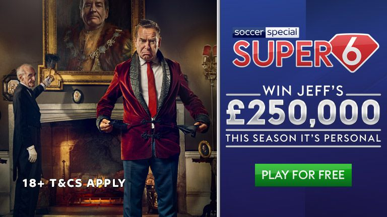 Win Jeff's £250K by playing Super 6!