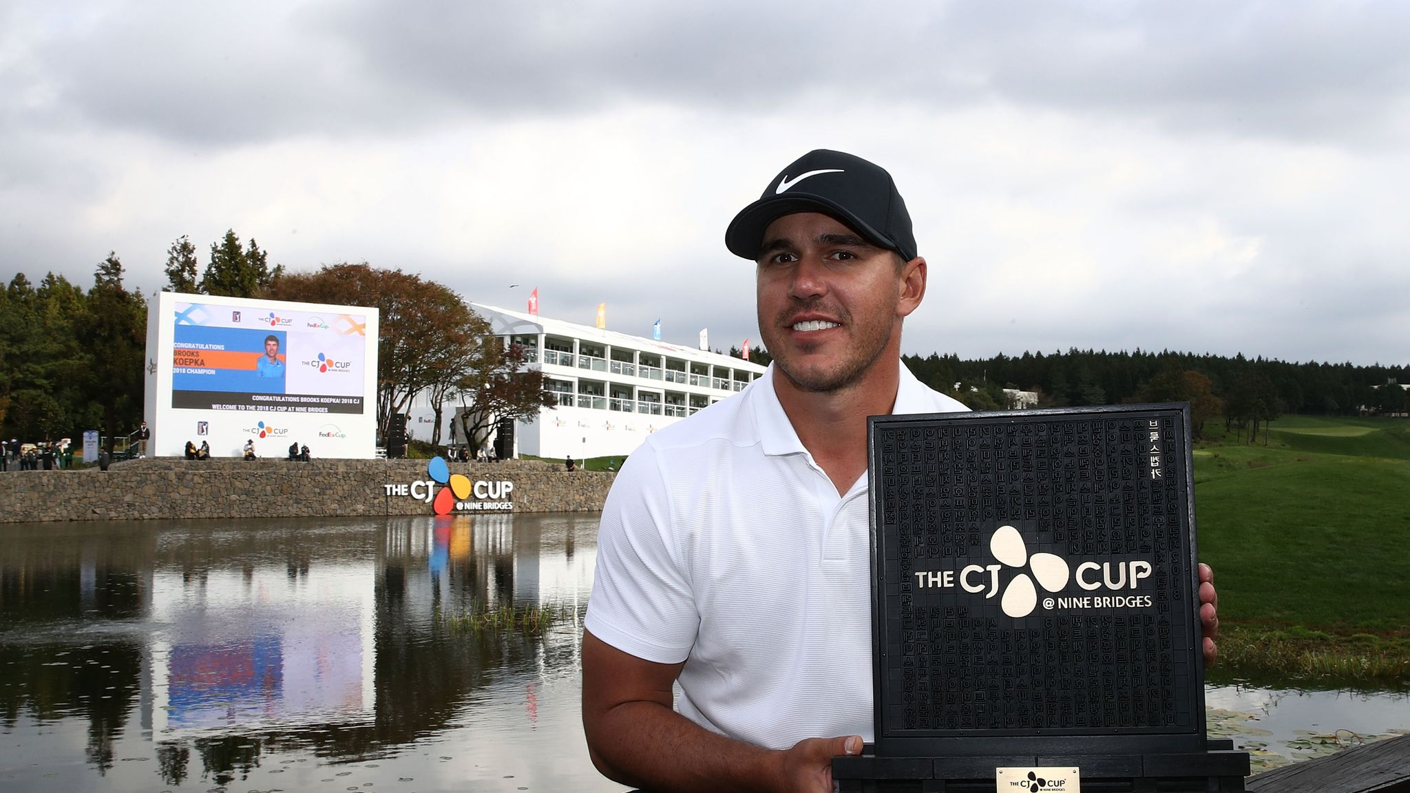 Brooks Koepka to become world No 1 for first time after CJ Cup title