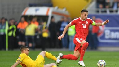 Tadic was guilty of a glaring miss during Serbia's goalless draw with Romania