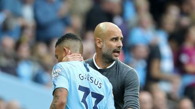 fifa live scores - Pep Guardiola 'so satisfied' with goal-shy Manchester City striker Gabriel Jesus