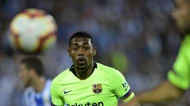 Could Malcom already be heading for the exit door at the Nou Camp?