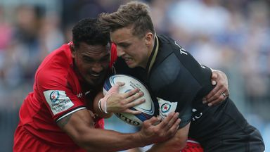 Bath believe Jerome Kaino (left) and his Toulouse team-mate Lucas Pointud should have been sent off