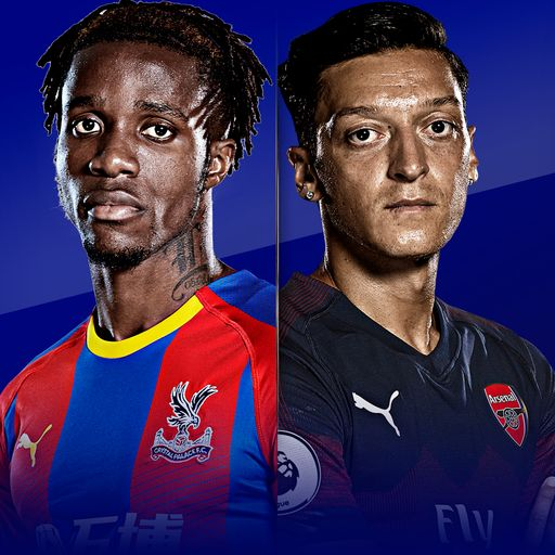 Watch Crystal Palace v Arsenal