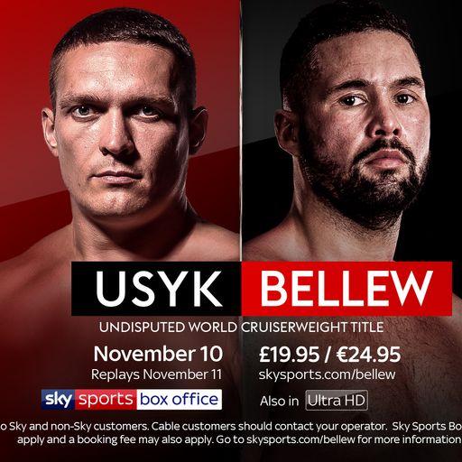 Book Usyk vs Bellew here!