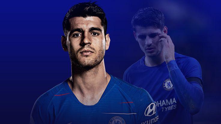 Alvaro Morata joined Chelsea from Real Madrid last year