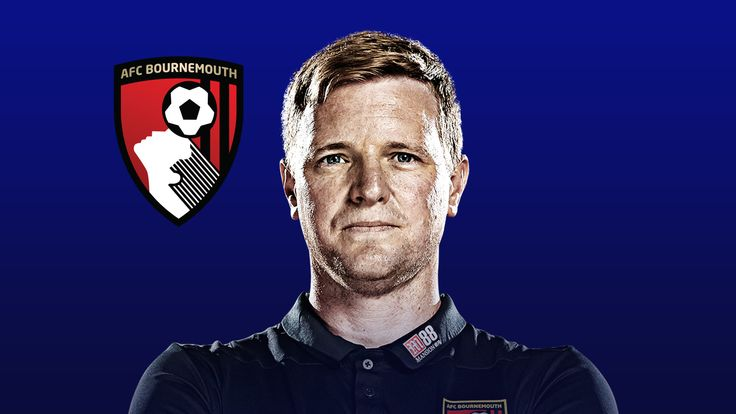 Bournemouth manager Eddie Howe has his team in the top half of the table