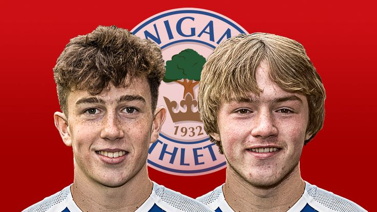 Wigan Athletic youngsters Jensen Weir and Joe Gelhardt are in the England U17 squad