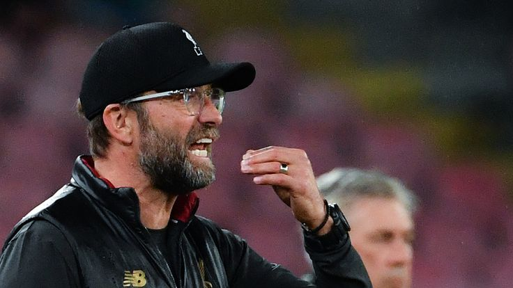 Jurgen Klopp saw his side struggle through a third consecutive game without a win