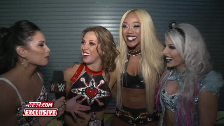 Mickie James, Alicia Fox and Alexa Bliss were thankful for the opportunity despite their loss at Evolution