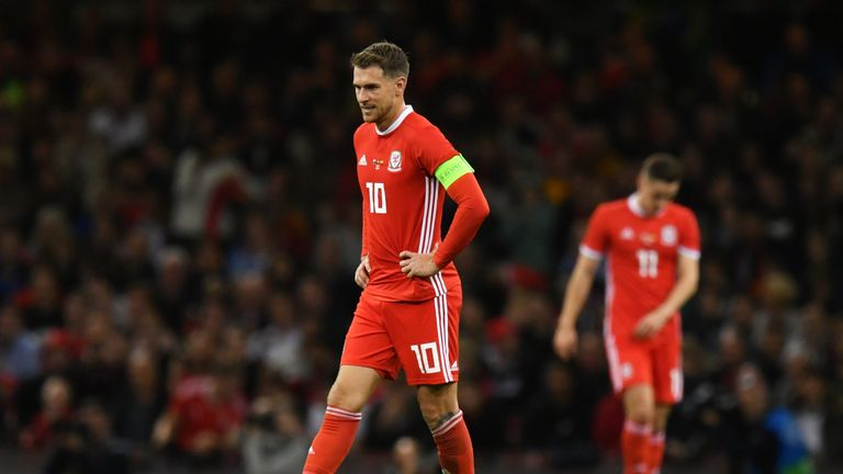 during the International Friendly match between Wales and Spain on October 11, 2018 in Cardiff, United Kingdom.