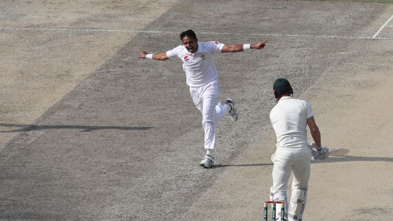 Mohammad Abbas has taken 49 wickets in nine Tests for Pakistan so far in his career