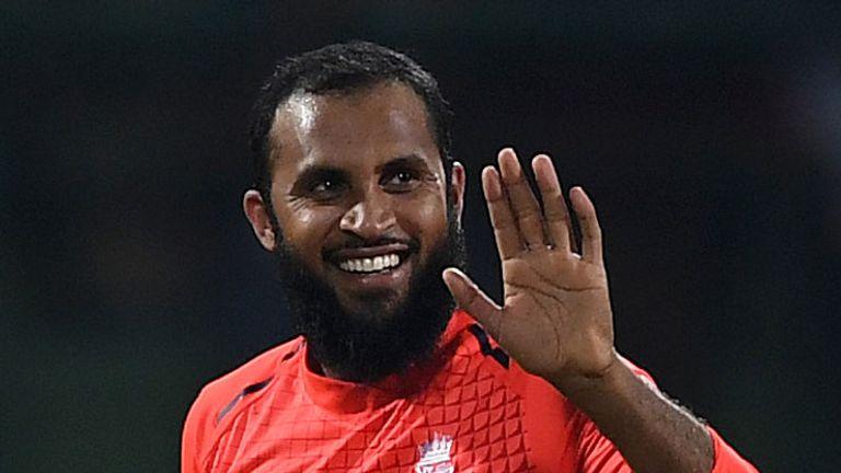 Adil Rashid returned figures of 4-36 off five overs