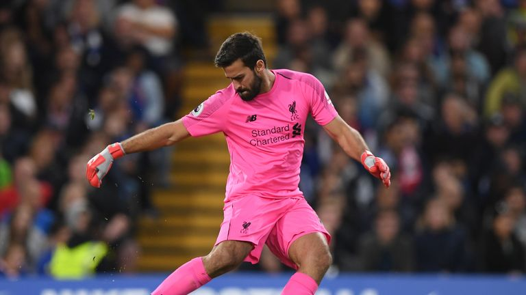 Alisson has been in fine form for Liverpool since joining from Roma