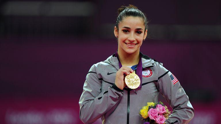 Aly Raisman won Olympic gold at London 2012