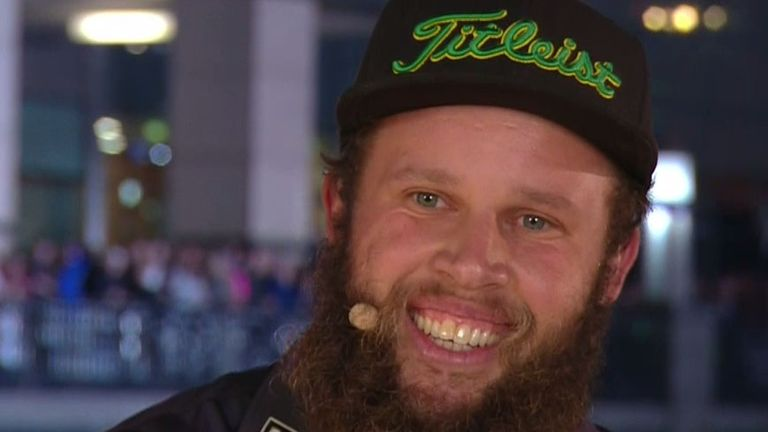 Beef Johnston was all smiles after his Hero Challenge win